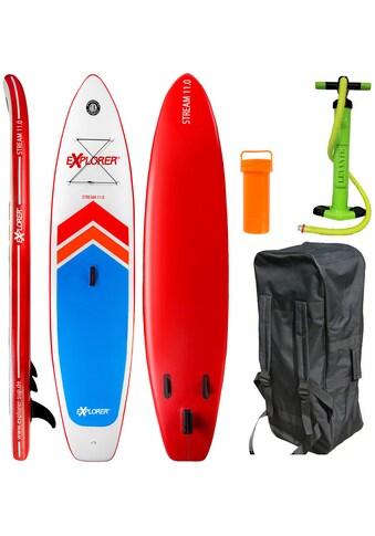 EXPLORER Inflatable SUP - Board »Stream 11.0« kaufen