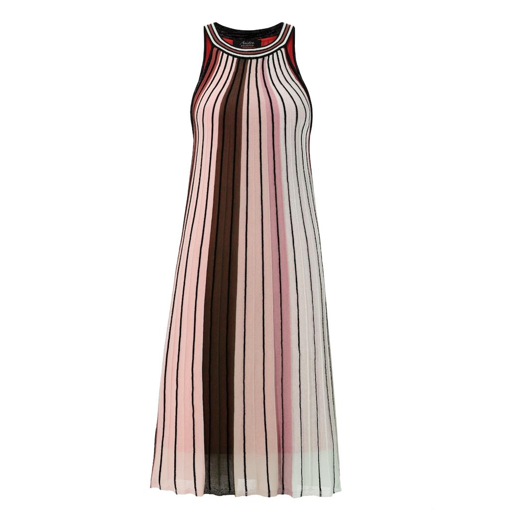 Aniston SELECTED Partykleid, im modischen Streifen - NEUE KOLLEKTON