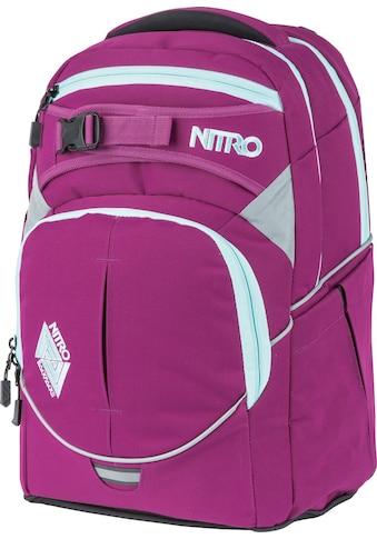 NITRO Schulrucksack »Superhero Grateful Pink«, Reflektoren, mit gratis Pencil Case &... kaufen