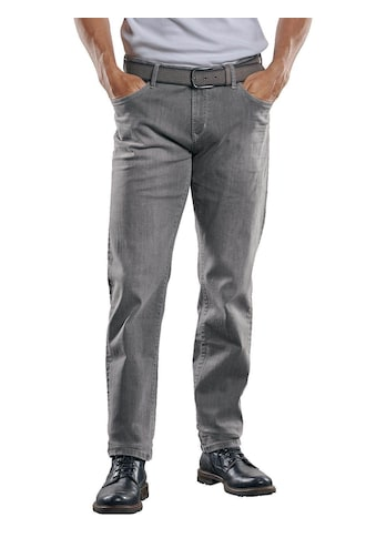 Engbers Straight-Jeans, mit coolen Knittereffekten kaufen
