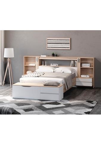 DELAVITA Schlafzimmer-Set »Adour«, mit Hintergrundbeleuchtung kaufen