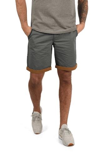 Blend Chinoshorts »Neji«, kurze Hose mit umgeschlagenen Hosenbeinen in Kontrastfarbe kaufen