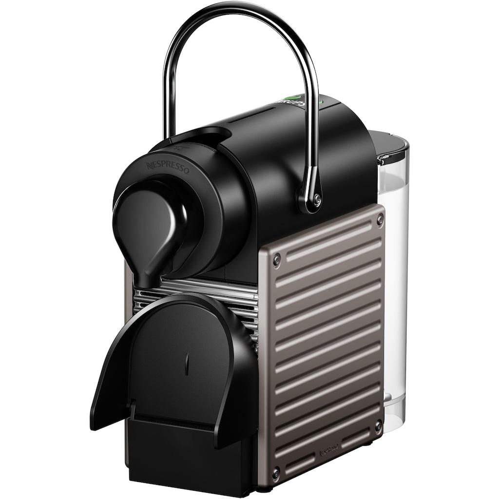 Nespresso Kapselmaschine »XN305T Pixie«, mit separatem Milchaufschäumer Aeroccino