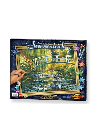 Schipper Malen nach Zahlen »Meisterklasse Premium - Seerosenteich nach Claude Monet (1840-1926)«, Made in Germany kaufen