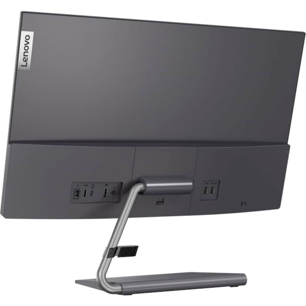 "Lenovo LED-Monitor »Q24h-10 (D20238QL0)«, 61 cm/24 "", 2560 x 1440 px, WQHD, 6 ms Reaktionszeit, 75 Hz"