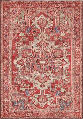 NOURISTAN Teppich »Leta«, rechteckig, 5 mm Höhe, Vintage Design, Orient-Optik, Wohnzimmer kaufen