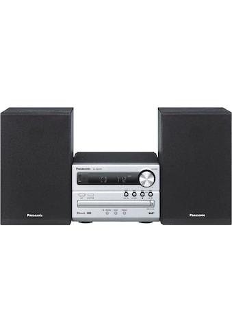 Panasonic Microanlage »SC-PM254EG«, (Bluetooth Digitalradio (DAB+)-FM-Tuner mit RDS 20 W) kaufen