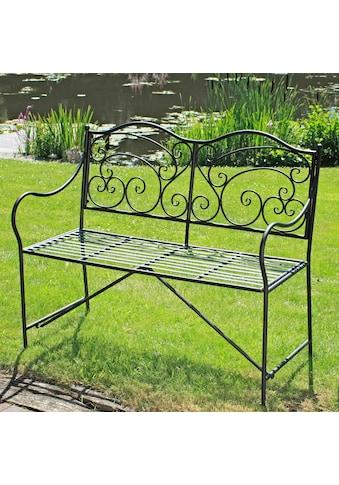 GARDEN PLEASURE Gartenbank »Vesuv«, Stahl, 111x54 cm kaufen