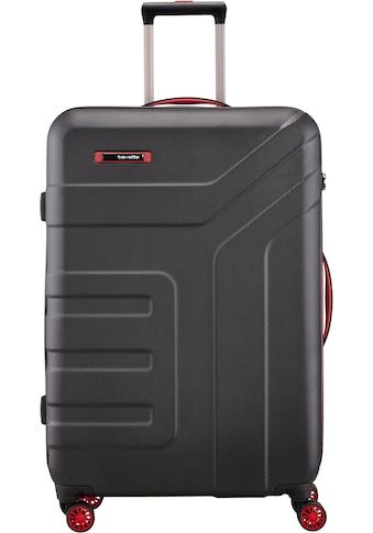 travelite Hartschalen-Trolley »Vector, 77 cm, schwarz«, 4 Rollen kaufen