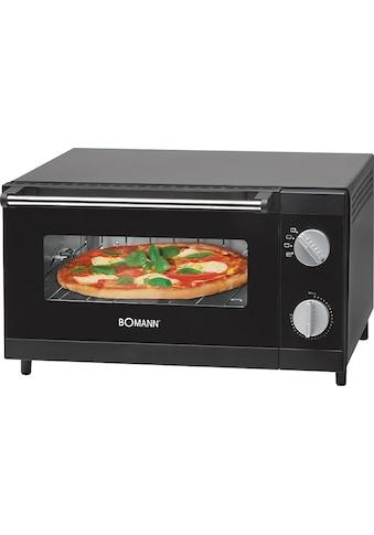 BOMANN Minibackofen »MPO 2246 CB«, Ober-/Unterhitze, 1000 W, Pizzaofen ideal zum Grillen und Aufbacken kaufen