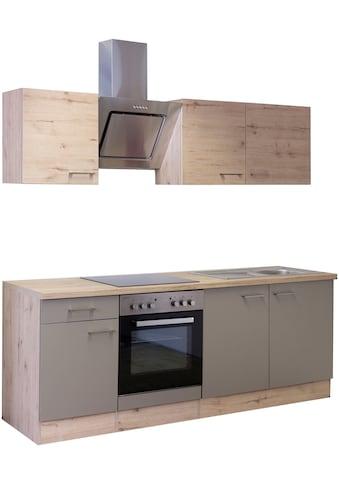Flex-Well Küchenzeile »Riva«, mit E-Geräten, Gesamtbreite 210 cm kaufen