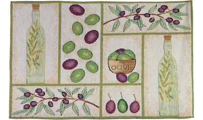 SPRÜGEL Platzset »Olivenöl«, (Set, 4 St.), Gobelin kaufen
