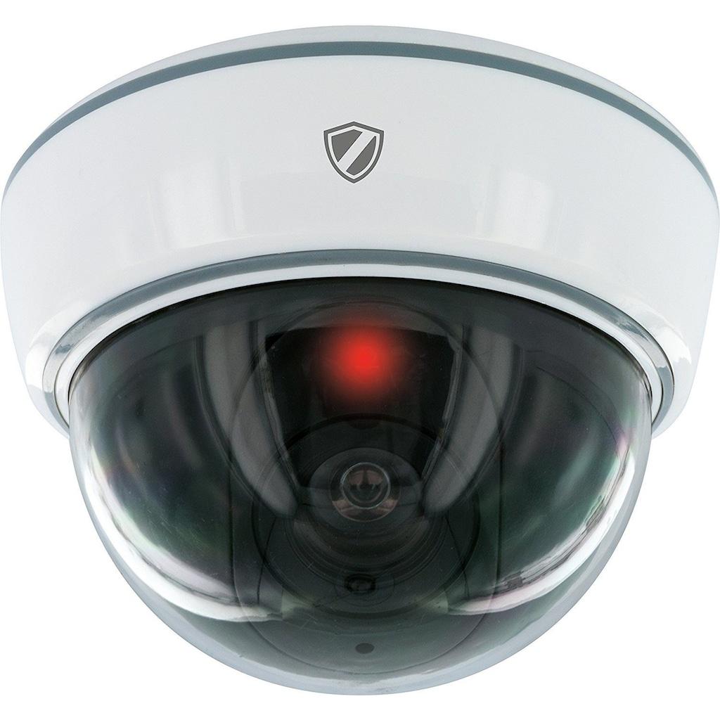 Schwaiger Kamera-Attrappe zur Deckenmontage »Red Secure«