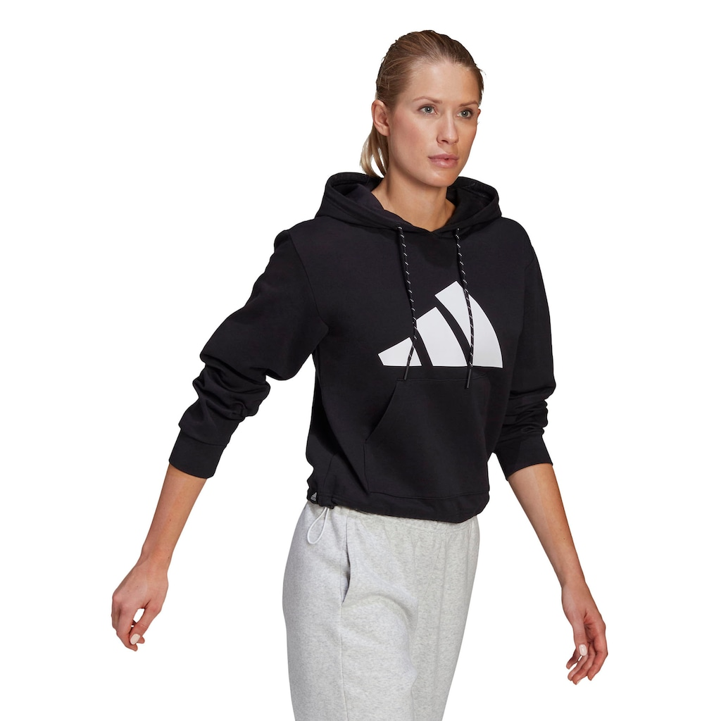 adidas Performance Kapuzensweatshirt »WOMEN RELAXED FIT LOGO HOODIE«