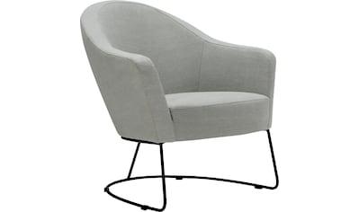 LOVI Loungesessel »Grape«, Metallrahmen schwarz, ergonomische Gestaltung mit hochwertigem Formschaum kaufen