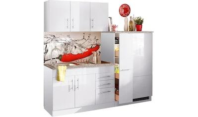 HELD MÖBEL Küchenzeile »Toledo«, mit E - Geräten, Breite 180 cm kaufen