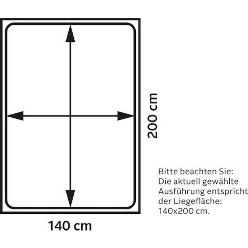 Karup Design Schlafsofa »Roots«, inkl. Futonmatratze, Liegefläche 140x200 cm