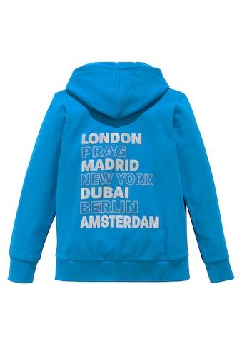 Arizona Kapuzensweatshirt »LONDON PRAG MADRID« kaufen