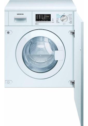 SIEMENS Einbauwaschtrockner iQ500 WK14D541, 7 kg / 4 kg, 1400 U/Min kaufen