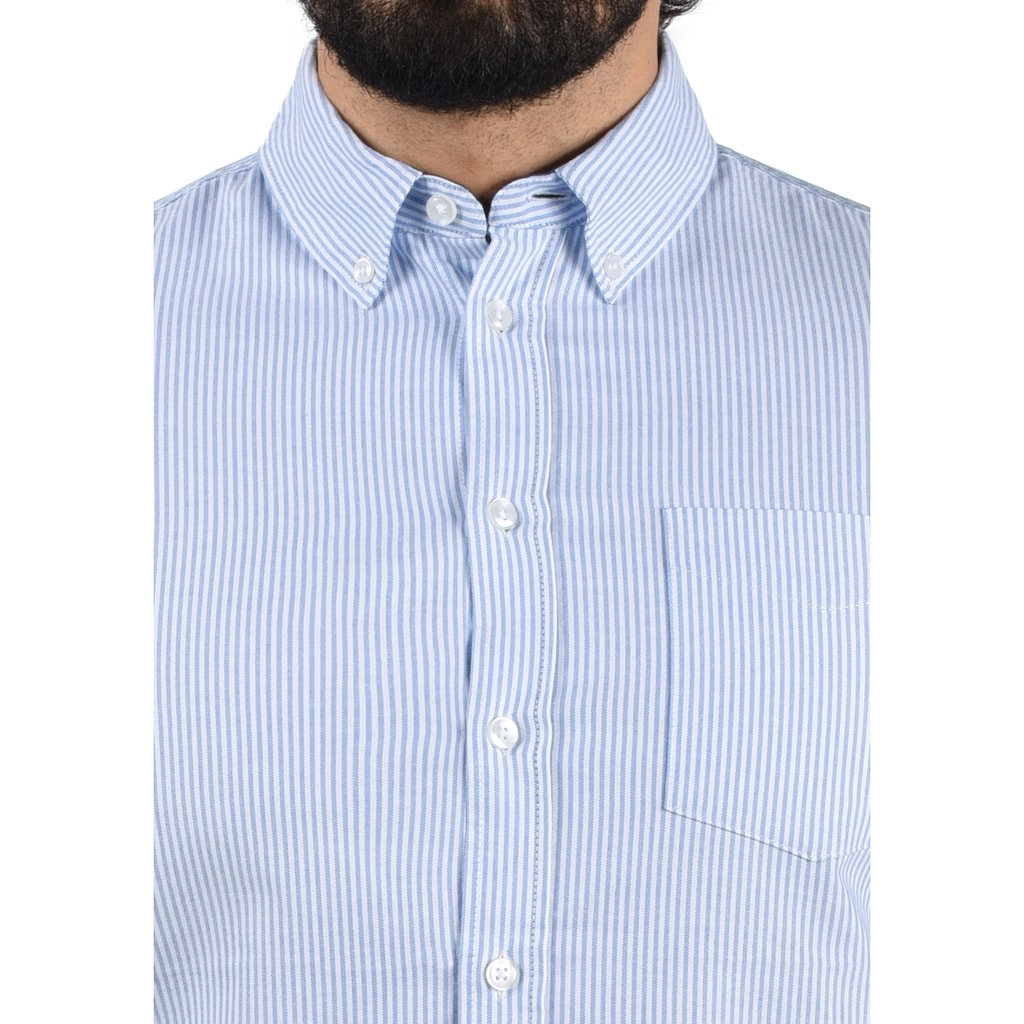 Blend Langarmhemd »Dubbo«, Hemd mit Knopfleiste