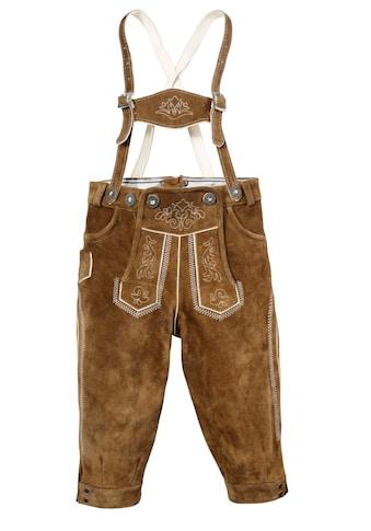 Kinder Lederhose im Knickerbocker - Style, Marjo kaufen