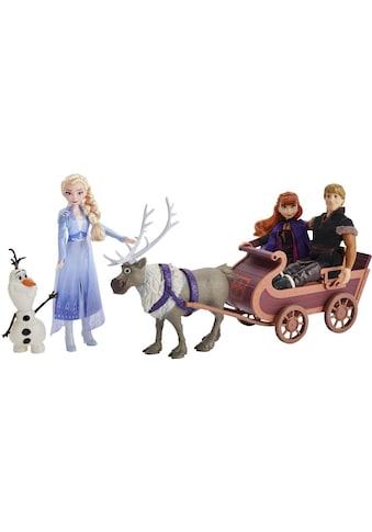 """Hasbro Anziehpuppe """"Die Eiskönigin II, Puppenschlitten, Abenteuerliche Schlittenfahrt"""" (Set) kaufen"""