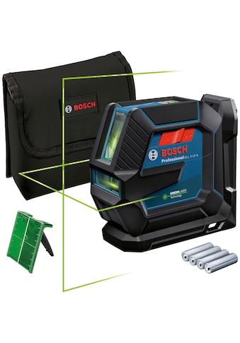 Bosch Professional Linienlaser »GLL 2-15 G Professional«, Staub- und... kaufen