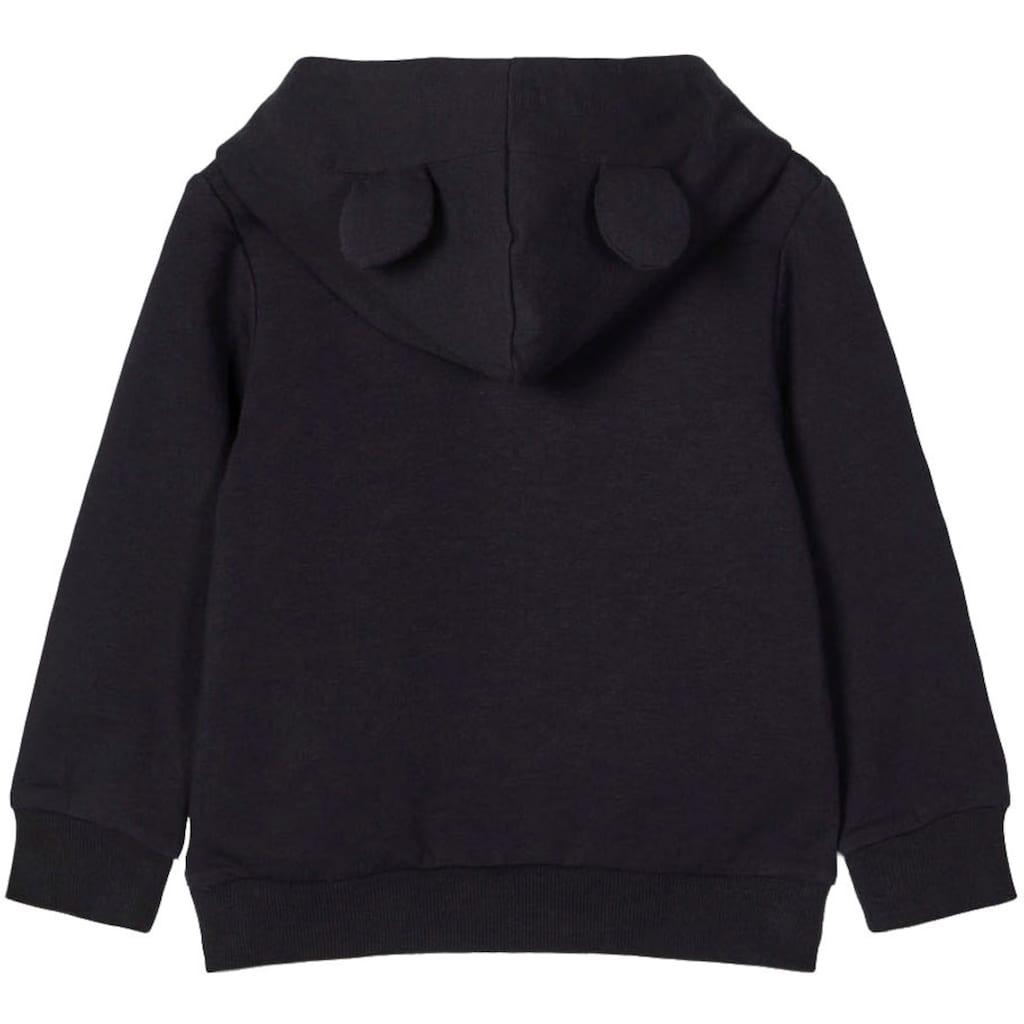 Name It Kapuzensweatshirt »NMFMINNIE LOPE«, Kapuze mit Minnie Mouse-Ohren