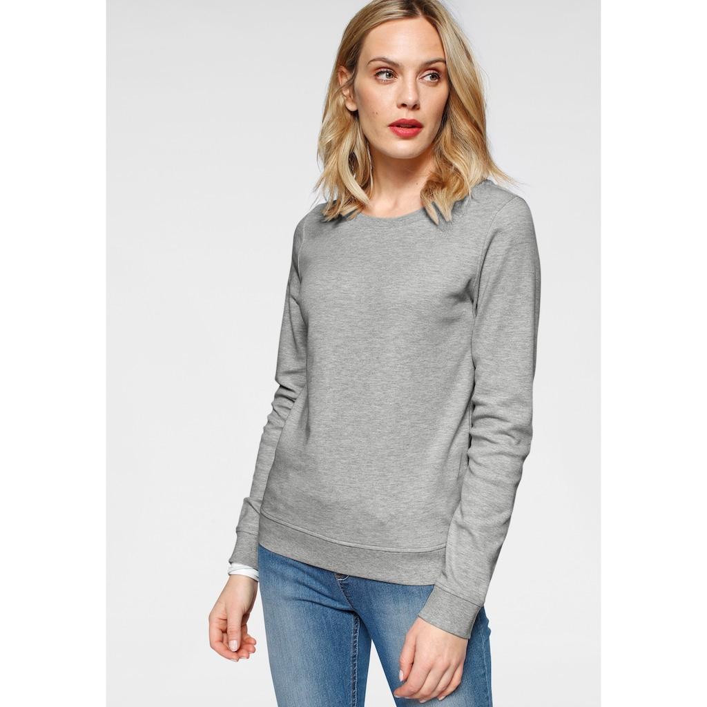 Flashlights Sweatshirt, mit trendigem Print und Unifarben