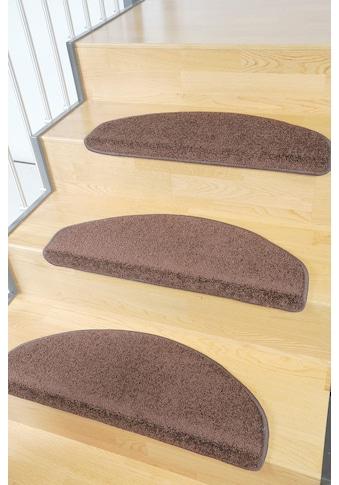Living Line Stufenmatte »Trend«, halbrund, 8 mm Höhe, große Farbauswahl, Velours, 15... kaufen