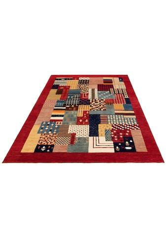 DELAVITA Wollteppich »Naina«, rechteckig, 16 mm Höhe, reine Wolle, handgeknüpft, mit Bordüre, Wohnzimmer kaufen