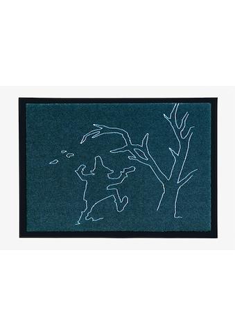 grimmliis Fußmatte »Märchen 4«, rechteckig, 2 mm Höhe, Fussabstreifer, Fussabtreter,... kaufen