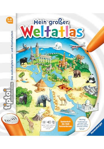 Buch »tiptoi® Mein großer Weltatlas / Inka Friese, Constanze Schargan« kaufen