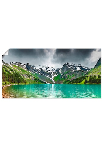 Artland Wandbild »Bergsee« kaufen