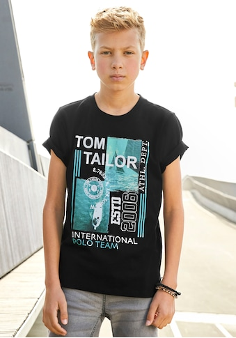 TOM TAILOR Polo Team T-Shirt »TEAM INTERNATIONAL« kaufen