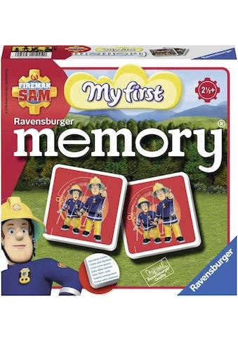 Ravensburger Spiel »Fireman Sam: My first memory®«, Made in Europe, FSC® - schützt Wald - weltweit kaufen