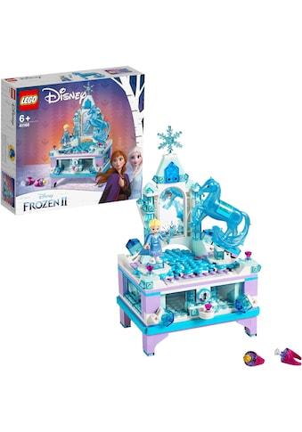 LEGO® Konstruktionsspielsteine »Elsas Schmuckkästchen (41168), LEGO® Disney Princess«,... kaufen