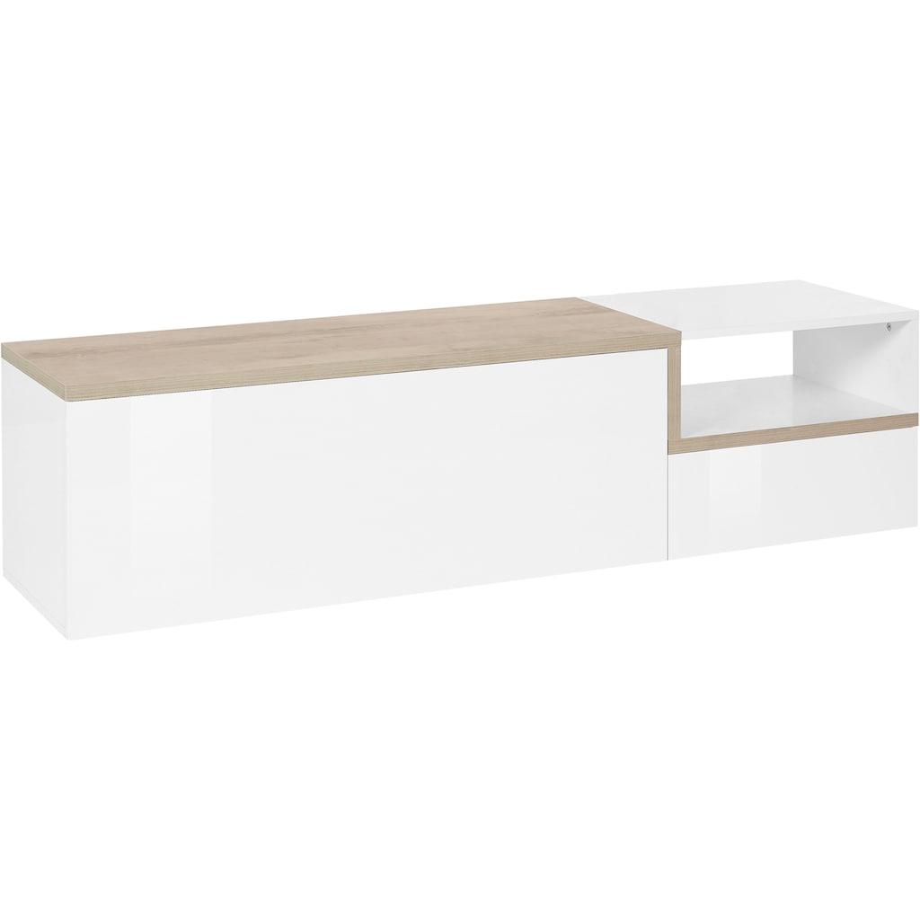 Tecnos Lowboard »Zet«, Breite 160 cm