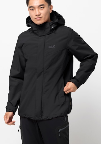 Jack Wolfskin Funktionsjacke »THREE PEAKS JACKET M« kaufen