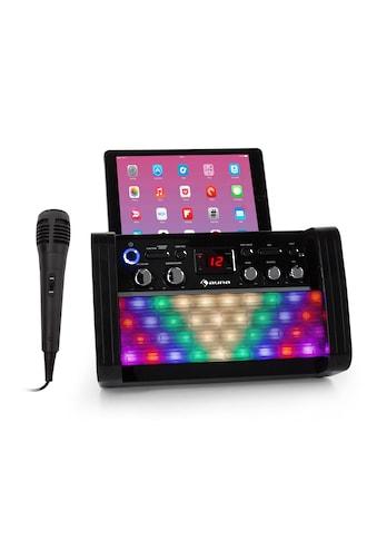 Auna DiscoFever 2.0 Karaokeanlage, BT, Disco-LED, CD-/CD+G-Player kaufen