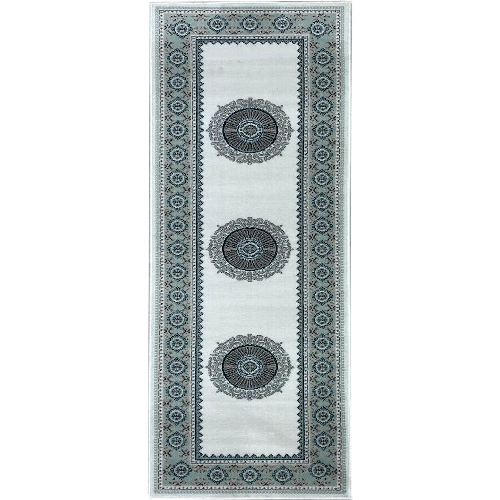 DELAVITA Läufer »Shari«, rechteckig, 7 mm Höhe, Teppich-Läufer, Orient-Optik