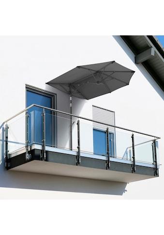 Schneider Schirme Balkonschirm »Salerno mezzo«, mit Schutzhülle, ohne Schirmständer kaufen