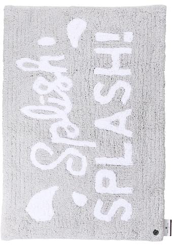 Badematte »Cotton Splash«, TOM TAILOR, Höhe 20 mm, rutschhemmend beschichtet, fußbodenheizungsgeeignet strapazierfähig kaufen