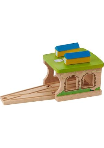 EverEarth® Spielzeugeisenbahn-Gebäude »Eisenbahnschuppen«, FSC®-Holz aus gewissenhaft... kaufen