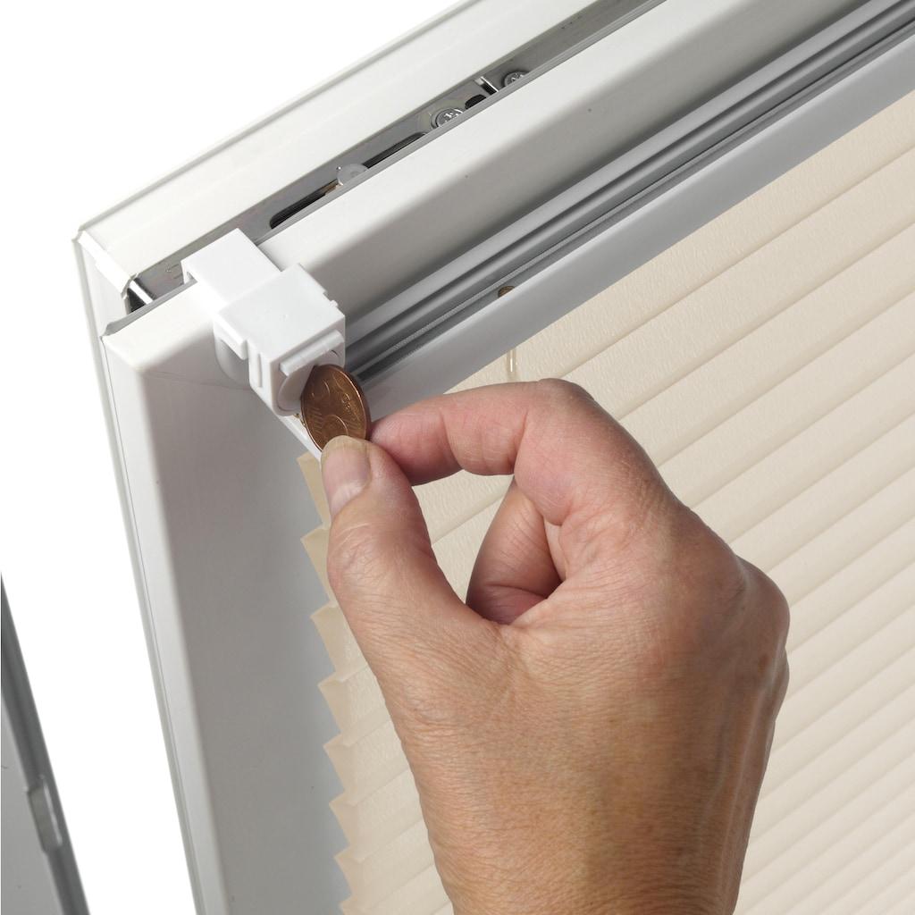 my home Plissee »EASYFIX PIA«, Lichtschutz, ohne Bohren, verspannt