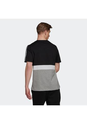 adidas Performance T-Shirt »COLORBLOCK ESSENTIALS REGULAR MENS« kaufen