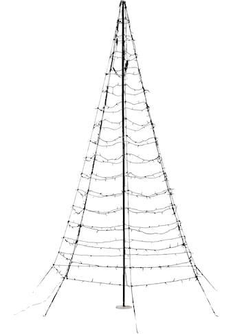 LED Baum »Galaxy«, Warmweiß, mit Aufstellmast, aus Metall und Kunststoff, mit... kaufen