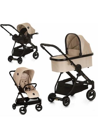 iCoo Kombi-Kinderwagen »Acrobat XL Plus Trio Set Sahara«, 15 kg, ; Kinderwagen kaufen
