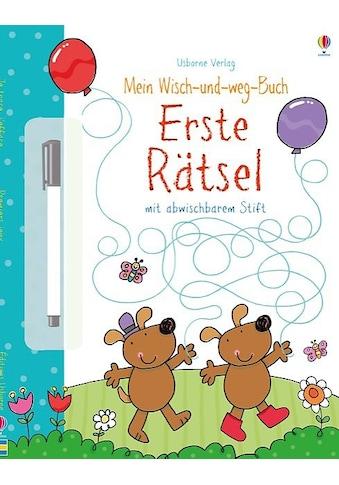 Buch »Mein Wisch-und-weg-Buch: Erste Rätsel / Jessica Greenwell, Stacey Lamb« kaufen