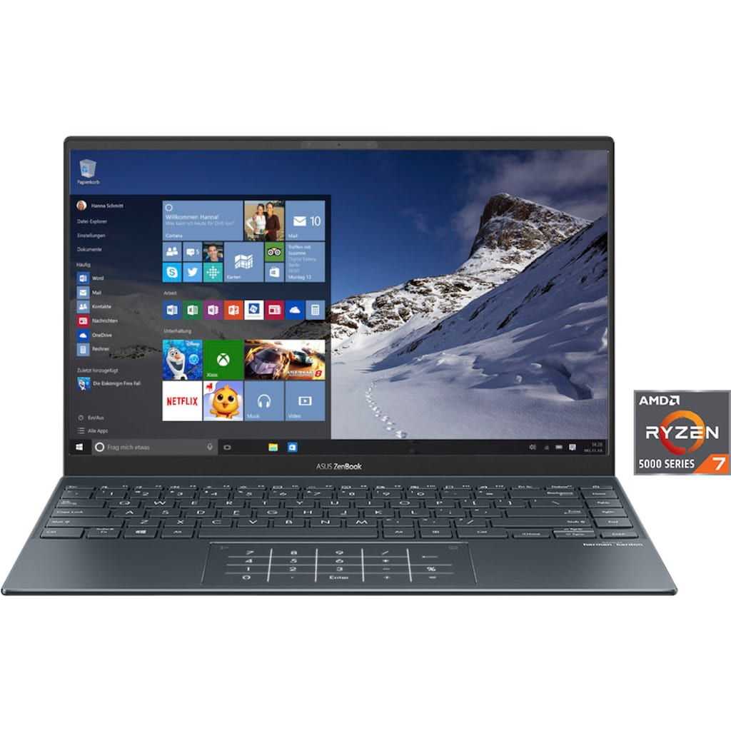 Asus Notebook »UM425UA-KI087T«, ( 512 GB SSD)